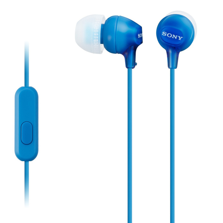 Audífonos SONY In Ear ML EX15AP Azul - 0