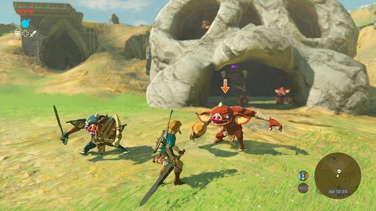 Juego NINTENDO Switch Legend of Zelda: Breath of the Wild - 1