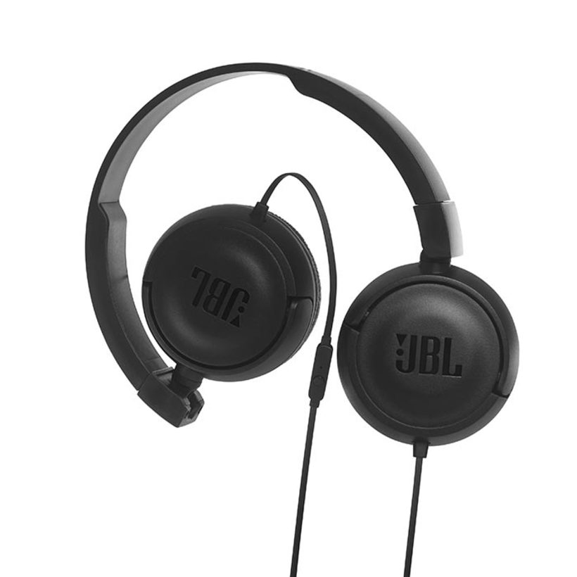 Audífonos JBL Alámbrico On Ear T450 Negro - 1