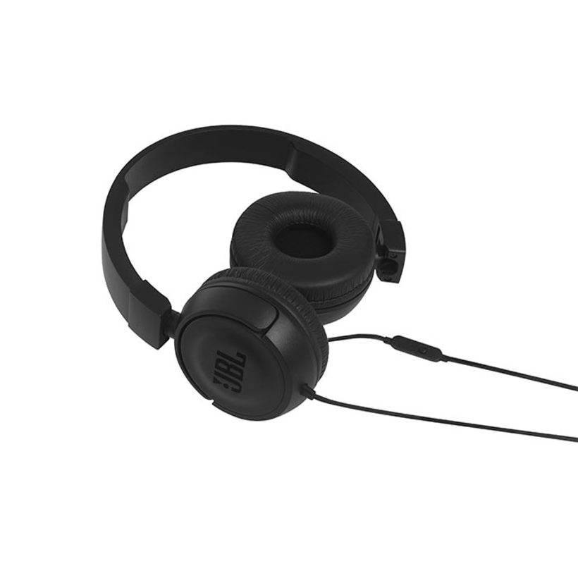 Audífonos JBL Alámbrico On Ear T450 Negro - 2