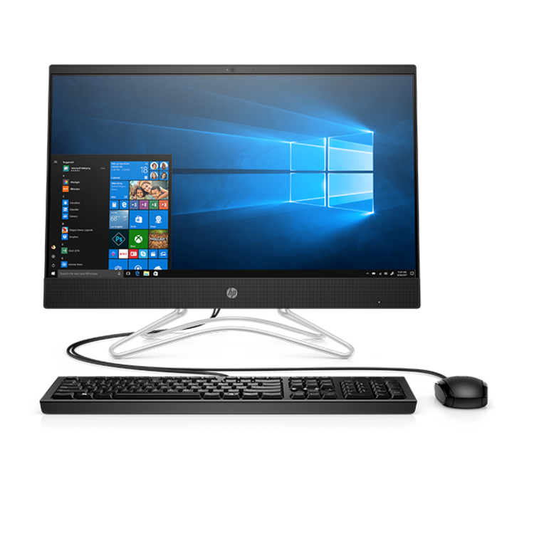 "Computador All In One HP 24-F009 Intel Core I3- 4 GB ram- Disco Duro 1TB- 23,8"" Pulgadas Negro"
