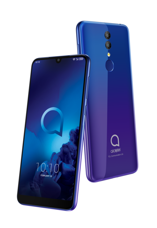 Celular ALCATEL 3- 32GB 4G Morado
