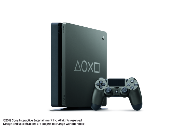 Consola PLAYSTATION 4 Slim Hits 5 1TB + 1 Control Days of Play 2019 - LATAM