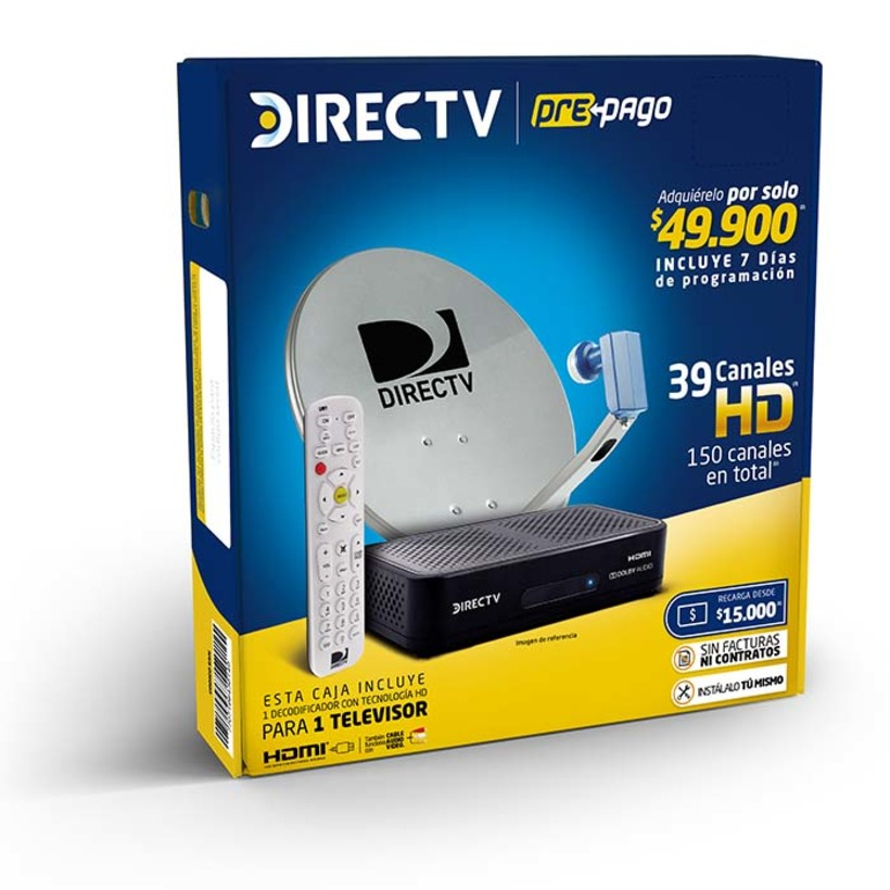Set DIRECTV Prepago 1 Deco HD - 0