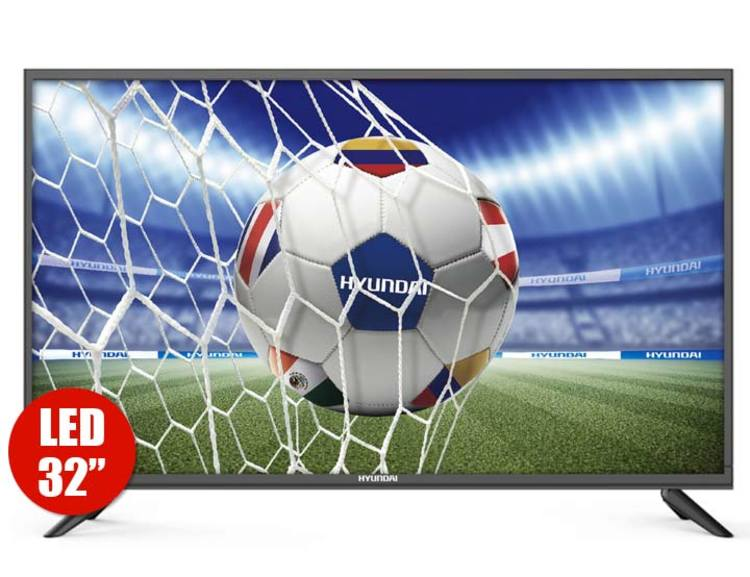 "TV HYUNDAI 32"" Pulgadas 80 Cm 3238 HD LED Plano"