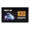 """PIN Virtual FreeFire 100 Diamantes - """