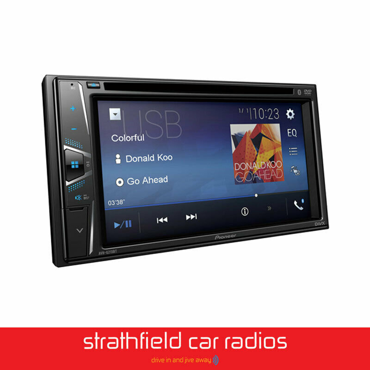 Reproductor de Multimedia  PIONEER AVH-G215BT con Bluetooth integrado